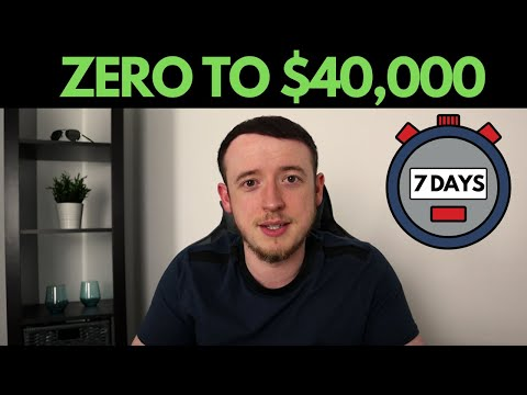 From ZERO to $40,000 in just 7 Days | Simple Shopify Dropshipping Strategy thumbnail