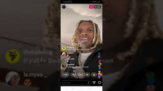 LIL DURK ON IG LIVE AFTER FBG DUCK SHOOTING