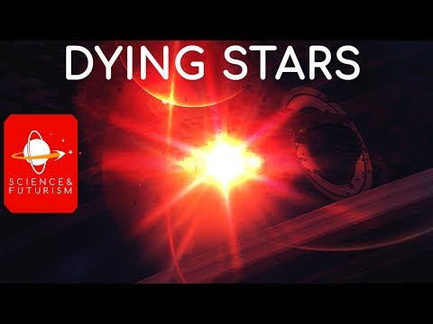 Civilizations at the End of Time: Dying Stars