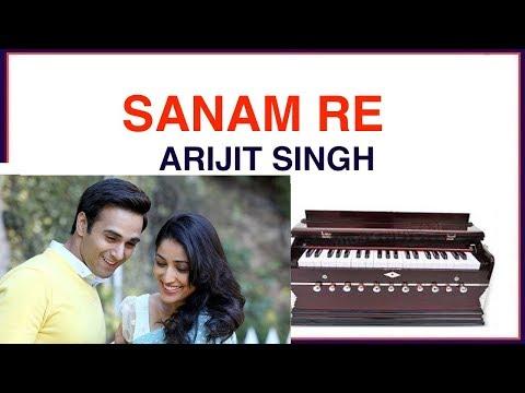 SANAM RE | Bollywood Song | play on harmonium