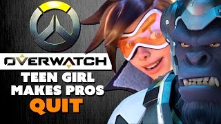 Overwatch Teen Makes Pros QUIT in Shame - The Know