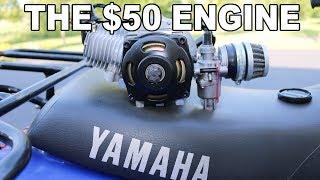 $50 Engine Rebuild INTRO! 47cc Pocket Bike Motor
