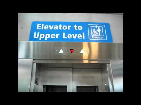 Otis Scenic Elevator at the Southgate LRT Station in Edmonton, Alberta