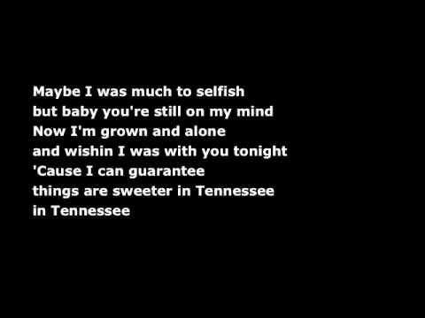 Tennessee (karaoke/instrumental) - The Wreckers