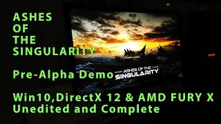 Ashes Of The Singularity - DirectX 12 Hands-On Demo with AMD FURY X