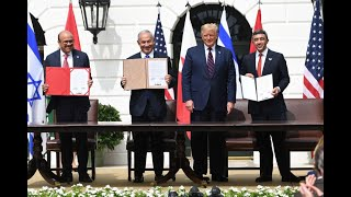 President Trump Participates In Abraham Accords Agreement Between UAE, Bahrain And Israel   FULL