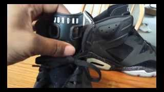 Custom Closet: Air Jordan Vi (6) 3m Oreo