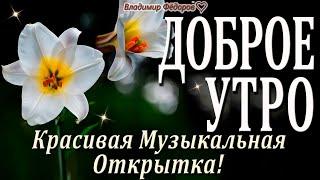 Доброе Утро! Вселенной правит Мудрая Любовь! Красивая Музыкальная Открытка с Добрым Утром!