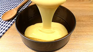 Торт за 1 минуту Вы будете делать этот торт каждый день Kitkatalog