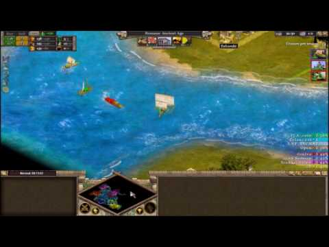 [Rise of Nations] Nomad 4vs4 Very Expensive & Slow (East Indies)