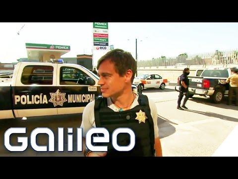 Tijuana - Harro unterwegs mit der Drogenpolizei   Galileo   ProSieben
