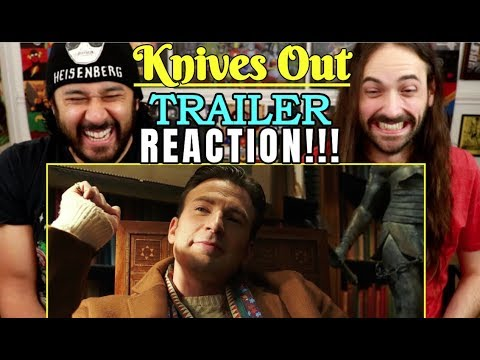 KNIVES OUT   TRAILER - REACTION!!!