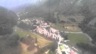 Buisson - Chamois cableway to reach no car village. Valtournenche, Valle d'Aosta