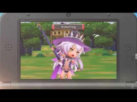 Stella Glow: NEW Hilda Trailer exclusive 3DS trailer