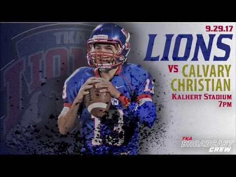 Football: The King's Academy Lions 27, Calvary Christian 3