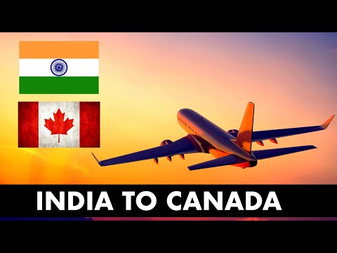 India To Canada Travel Vlog