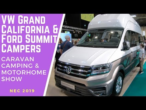 NEC Motorhome Show - VW Grand California & Ford Summit