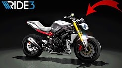 Ride 3 custom Triumph  Street Triple R + course