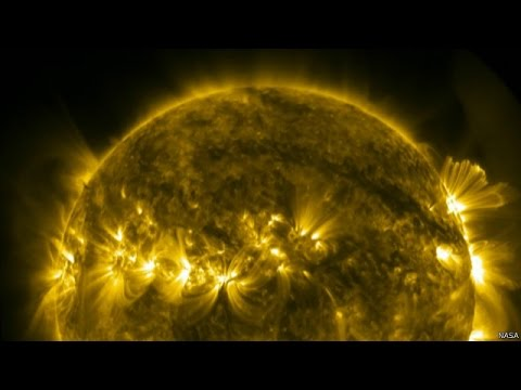 Nasa Captures Incredible 4k Images Of The Sun Youtube