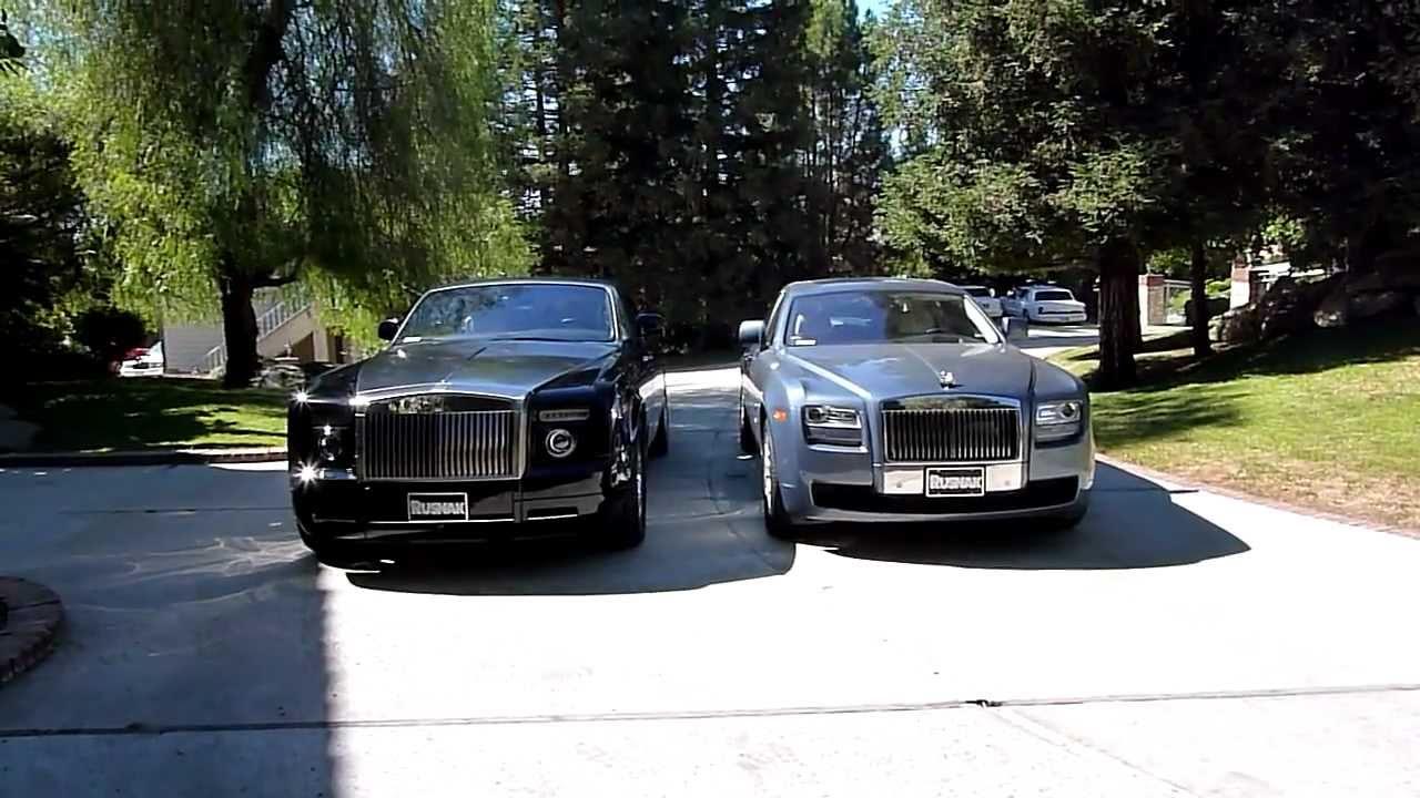 size comparison: rolls-royce ghost vs. drophead coupe - youtube