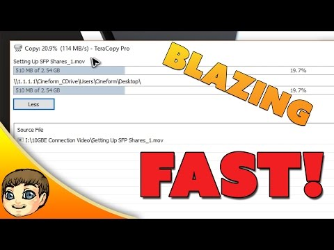 BLAZING FAST SPEEDS | How to Set Up a 10 GIGABIT Connection for under $100!