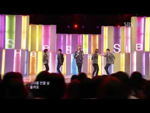 SHINee - Hello (샤이니 - 헬로) @ SBS Inkigayo 인기가요 101003