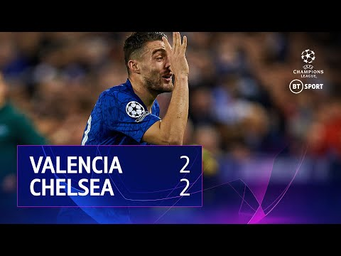 Valencia vs Chelsea(2-2) | UEFA Champions League Highlights