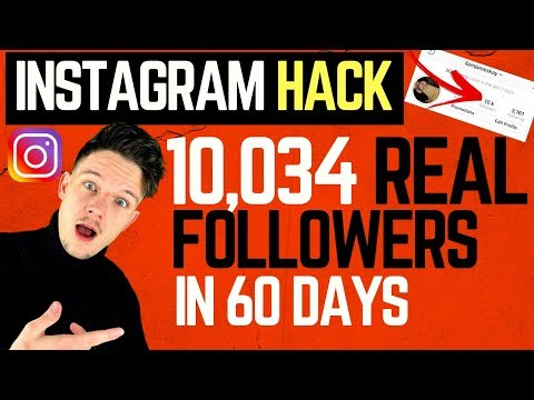 How To Get More Instagram Followers Fast - REAL Hack That WORKS (2019)