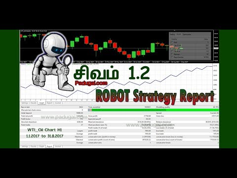 Sivam Forex Trading EA Robot Strategy Tester Profit Report Tamil - 6