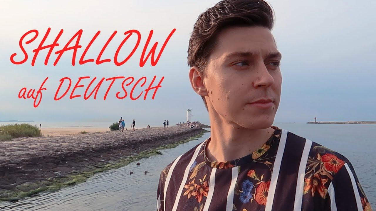 shallow auf deutsch