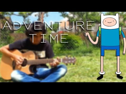 Adventure Time Intro Song  Guitar   Albert Gyorfi +TABS