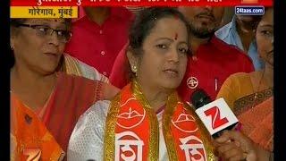 mumbai   shiv sena   kishori pednekar on sena bjp alliance break
