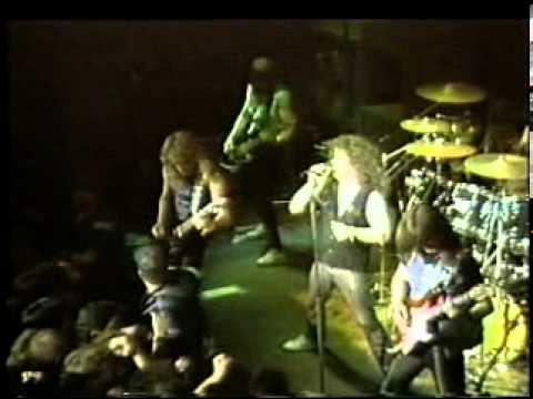 Slayer Exodus Venom - Combat Tour 1985...