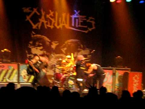 The Casualties - Under attack (Medley 2009)