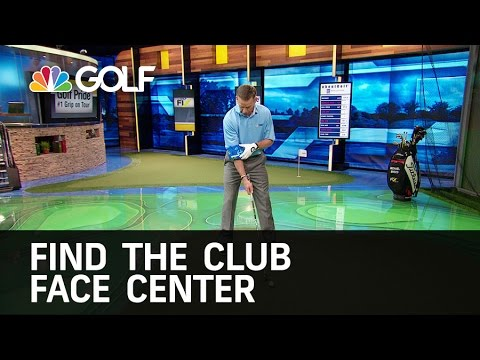 How To Find The Center of the Club Face   Golf Channel