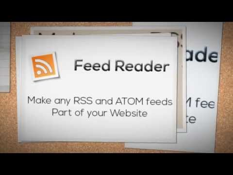 Feed Reader + Download