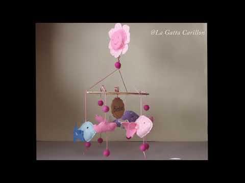 CARILLON PER CULLA PESCIOLINI, carillon bimba (melodia: Minuetto)