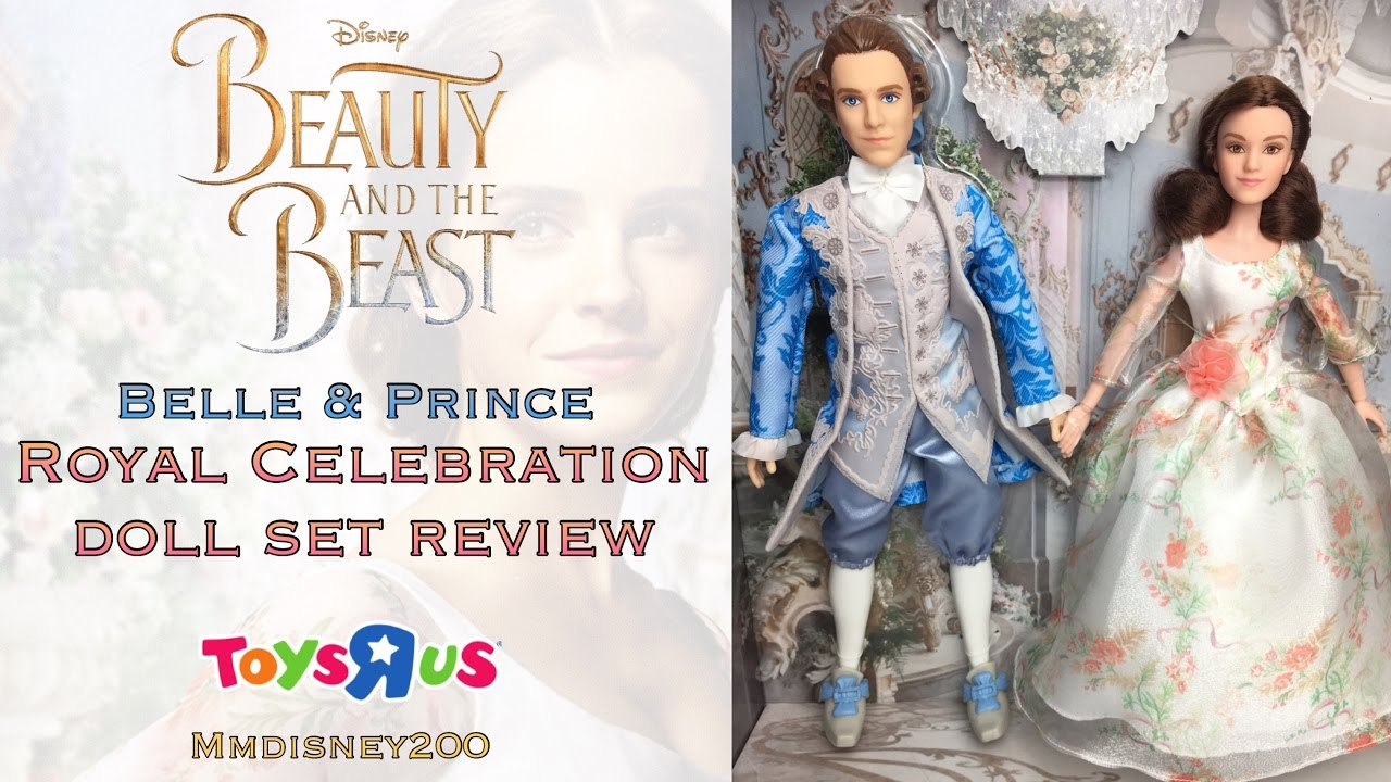 Beauty And The Beast Live Action Royal Celebration Hasbro Exclusive Doll Set Review Unboxing