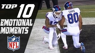 Top 10 Emotional Moments of the 2016 Season | NFL Highlights