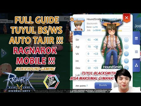 MAU KAYA? Bikin TUYUL BLACKSMITH.. AUTO TAJIR.. Full Guide Tuyul Blacksmith Ragnarok Eternal Love