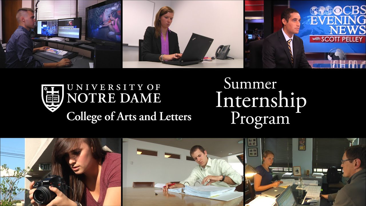 Internships // College of Arts and Letters // University of