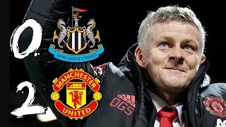 SOLSKJAER PASSES MAJOR TEST | NEWCASTLE 0-2 MAN UTD