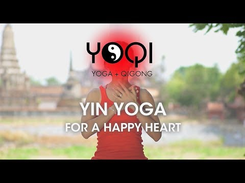 YIN YOGA FOR A HAPPY HEART