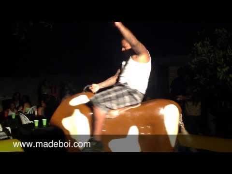 Backyard Bull Riding Mesa,Az Style