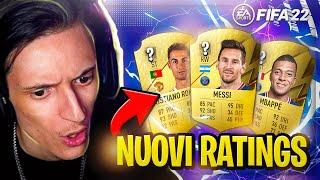REACTION ai NUOVI RATINGS di FIFA 22!