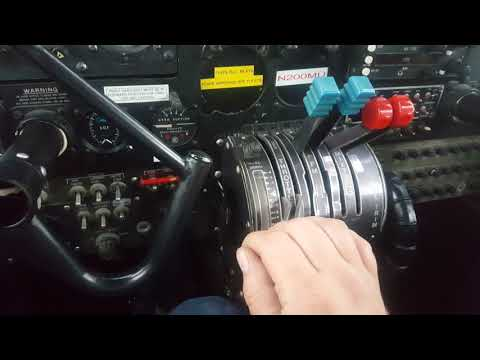 Britten Norman Islander hot start procedure