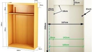Gambar cover como hacer un armario empotrado entre paredes