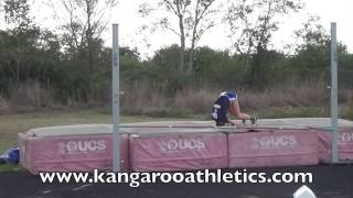 Kangaroo Athletics High Jump Club - Before and After # 121 - 10/28/13