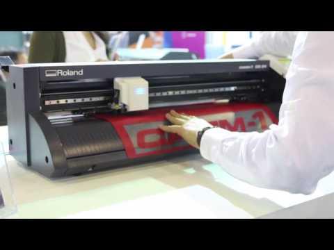 Roland CAMM-1 GS-24'ü  Fespa Eurasia 2016'da Baskı Yaparken Görün!
