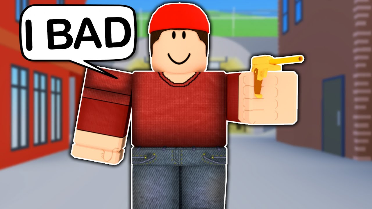I Pretended To Be A NOOB In ROBLOX ARSENAL YouTube